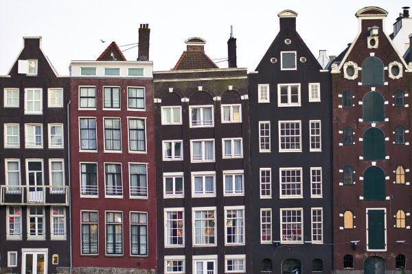 Amsterdam Gingerbread Houses